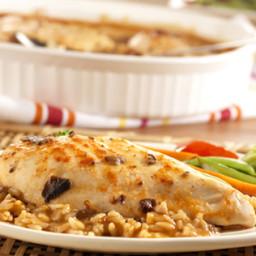 Asian Chicken & Rice Bake
