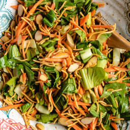 Asian Chopped Salad with Crispy Chow Mein Noodles (GF, Paleo)