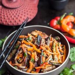 Asian Eggplant Salad