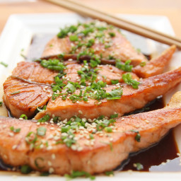 Asian Ginger and Sesame Salmon
