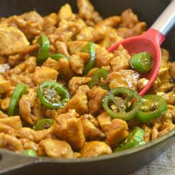 Asian Jalapeno Chicken
