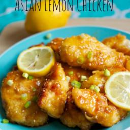 Asian Lemon Chicken
