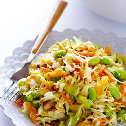 Asian Mango, Avocado and Ramen Noodle Salad