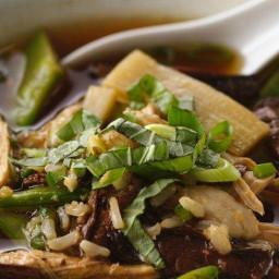Asian Mushroom Chicken Soup