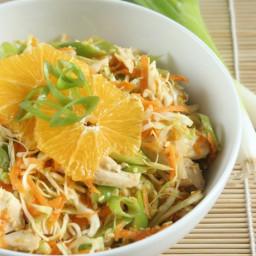 Asian Orange Sesame Chicken Salad