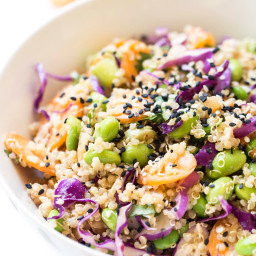 Asian Quinoa Power Salad