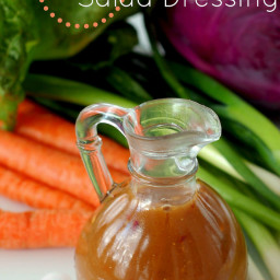 Asian Salad Dressing :: MSG , Gluten, and Soy Free