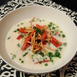Asian Scallop Soup