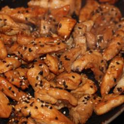 Asian Sesame Chicken Stir Fry (FODMAP friendly)