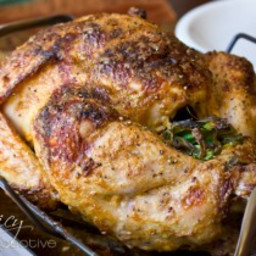 Asian Spiced Thanksgiving Turkey - How to Cook a Turkey in the Oven