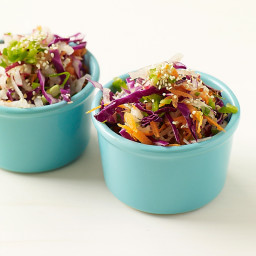 Asian-Style Cabbage-Carrot Slaw
