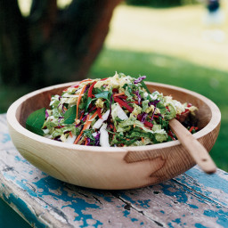 Asian-Style Spicy Coleslaw