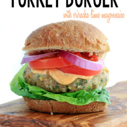 Asian Turkey Burger