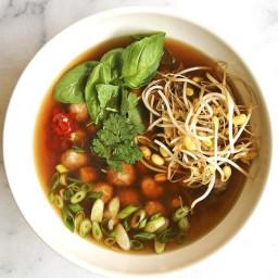 Asian Turkey Soup