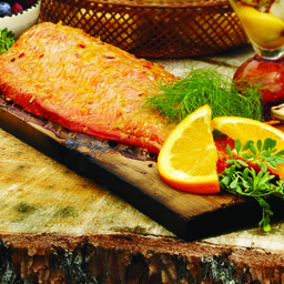 Asian Ginger Cedar Plank Salmon