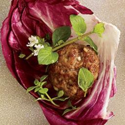 Asian Meatball Wraps