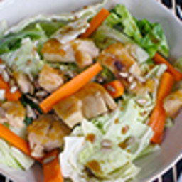 Asian Salad with Crispy Chicken