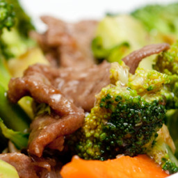 Asian Style Beef & Broccoli