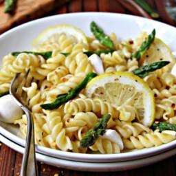 Asparagus and Lemon Rotini
