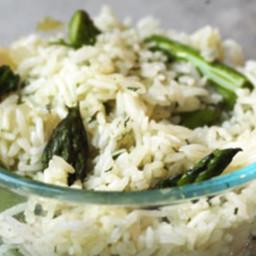 Asparagus and Rice Sauté