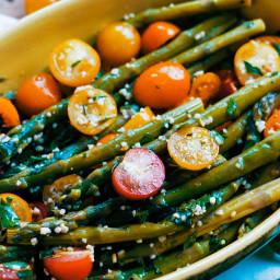 Asparagus And Tomato With Gremolata Recipe