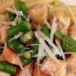 Asparagus, Chicken and Penne Pasta