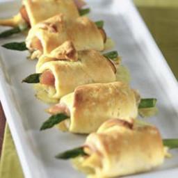 Asparagus Cordon Bleu Wraps