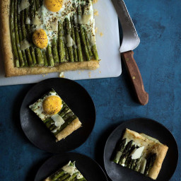 Asparagus Egg Tart