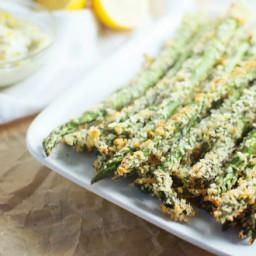 Asparagus Parmesan Fries