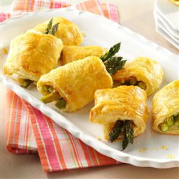 Asparagus Pastry Puffs Recipe