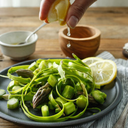 Asparagus Salad, Italian-Style