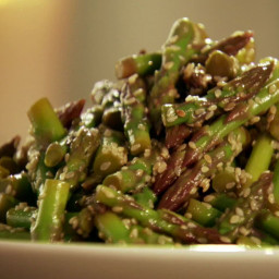 Asparagus Spears with Sesame