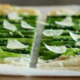 Asparagus Tart with Fresh Herbs