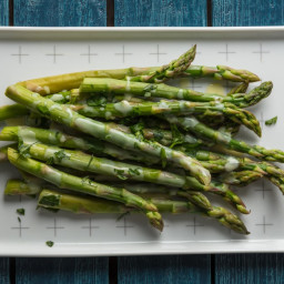 Asparagus With Avgolemono Sauce