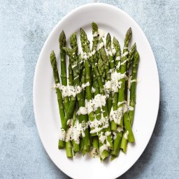 Asparagus with Easy Hollandaise Sauce  Recipe