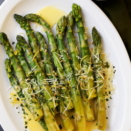 Asparagus with Lemon Butter Sauce Recipe