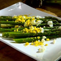 Asparagus with Parmigiano-Reggiano Vinaigrette
