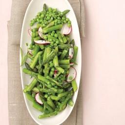 Asparagus, Peas, and Radishes with Fresh Tarragon