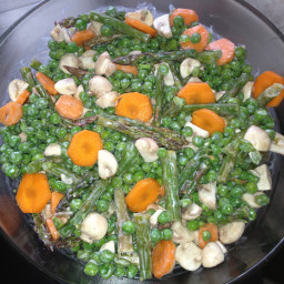 Aspargus and Pea Salad