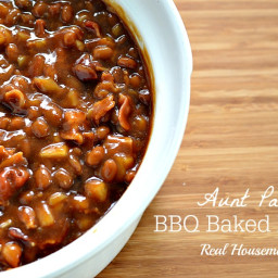 Aunt Patti's BBQ Baked Beans