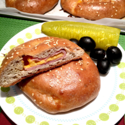 Aunt Rocky's Ham & Cheese Pockets (Gluten Free, Low Carb)