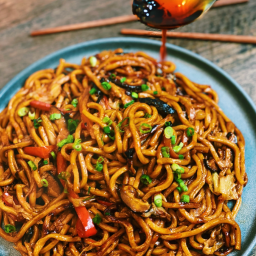Authentic & Healthy 20 Minutes Vegetarian Shanghai Noodles