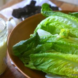 Authentic Caesar Salad Dressing in 30 Seconds Flat