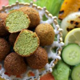 Authentic Golden Falafel (Gluten-Free and Vegan)