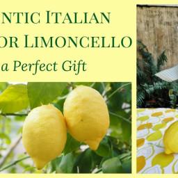Authentic Italian Recipe for Limoncello