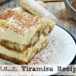Authentic Tiramisu Recipe