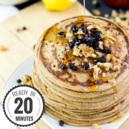 Authentic Vegan Banana Pancakes | Tasty and Healthy