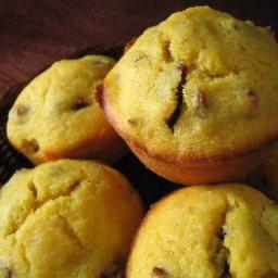 Autumn Cornmeal Muffins