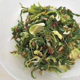 Autumn Greens Salad with Sunflower Seeds
