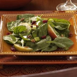 Autumn Spinach Salad Recipe